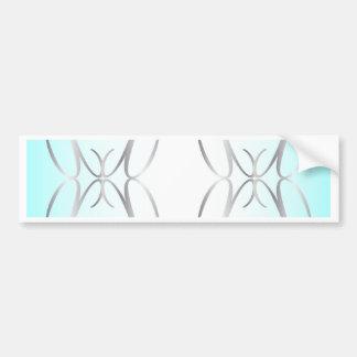 Decorative Background Bumper Sticker