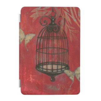 Decorative Birdcage with Butterflies iPad Mini Cover