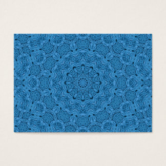 Decorative Blue   Pattern  Colorful Business Cards