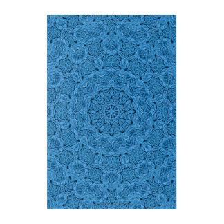 Decorative Blue Vintage  Acrylic Wall Art