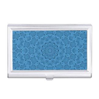 Decorative Blue Vintage Business Card Case