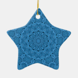Decorative Blue Vintage Colorful Ornaments