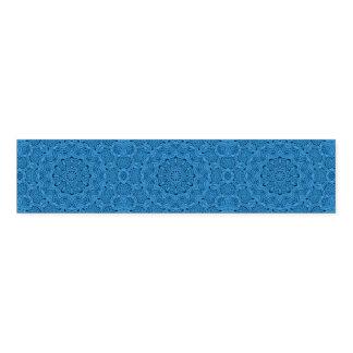 Decorative Blue Vintage Kaleidoscope Napkin  Bands