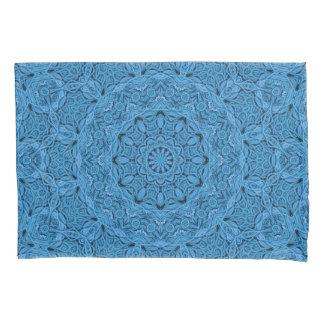 Decorative Blue Vintage Kaleidoscope Pillowcases