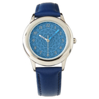 Decorative Blue Vintage Kids Watch