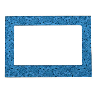 Decorative Blue Vintage   Magnetic Frames