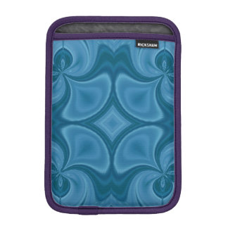 Decorative Blue wood pattern iPad Mini Sleeve