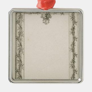 Decorative border, 1809 christmas ornament