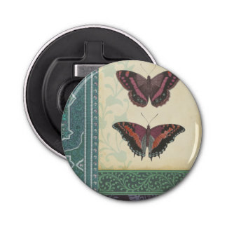 Decorative Butterfly Brocade by Vision Studio Bottle Opener