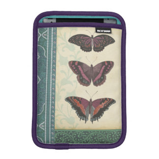 Decorative Butterfly Brocade by Vision Studio iPad Mini Sleeve