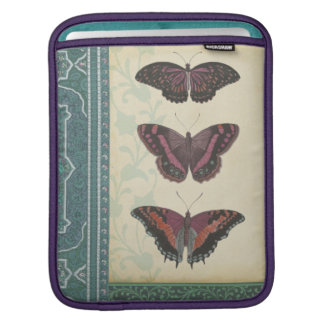 Decorative Butterfly Brocade by Vision Studio iPad Sleeve