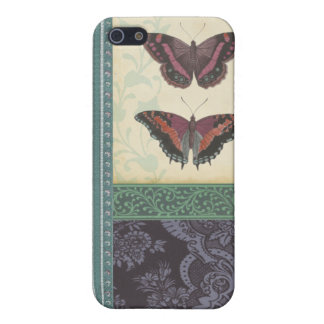 Decorative Butterfly Brocade by Vision Studio iPhone 5 Cases