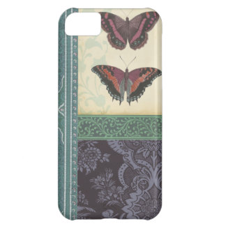 Decorative Butterfly Brocade by Vision Studio iPhone 5C Case