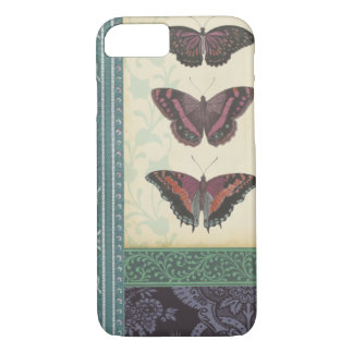 Decorative Butterfly Brocade by Vision Studio iPhone 8/7 Case