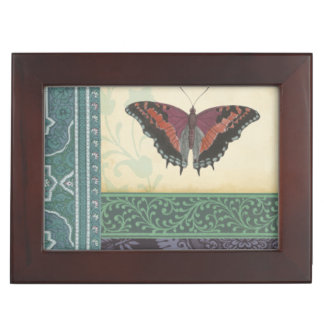 Decorative Butterfly Brocade by Vision Studio Keepsake Box