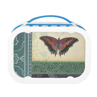 Decorative Butterfly Brocade by Vision Studio Lunch Box