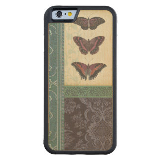 Decorative Butterfly Brocade by Vision Studio Maple iPhone 6 Bumper Case