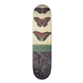 Decorative Butterfly Brocade by Vision Studio Skateboard Deck