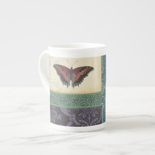 Decorative Butterfly Brocade by Vision Studio Tea Cup