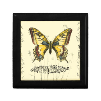 Decorative Butterfly with Wildflowers Gift Boxes