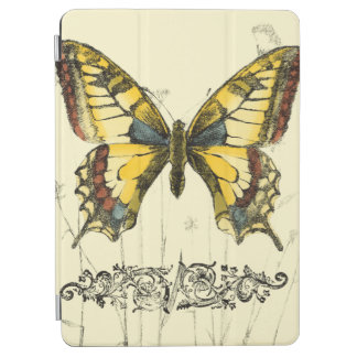 Decorative Butterfly with Wildflowers iPad Air Cover