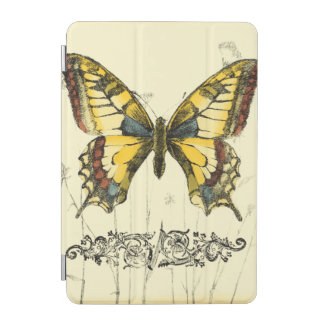 Decorative Butterfly with Wildflowers iPad Mini Cover