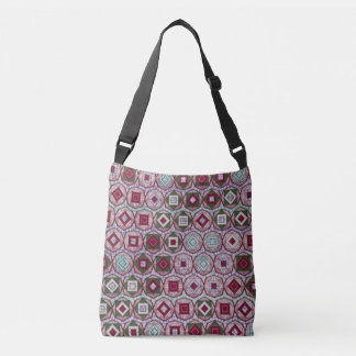 Decorative Buttons Cross Body Bag Tote Bag