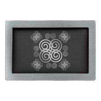 Decorative Celtic design. Belt Buckle