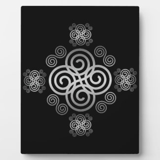 Decorative Celtic design. Display Plaques