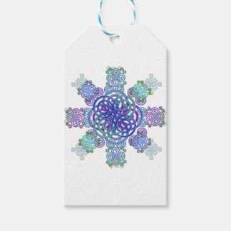 Decorative Celtic design. Gift Tags