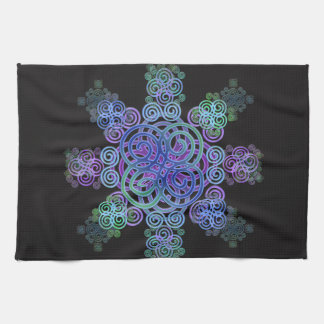 Decorative Celtic design. Tea Towel