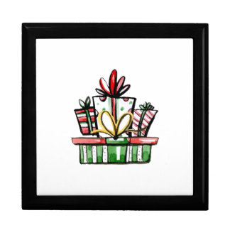 Decorative Christmas New Year Gift Box