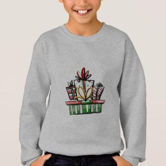 Decorative Christmas New Year Gift Box Sweatshirt