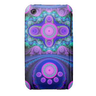 Decorative Circles, Ovals and Patterns iPhone 3 Case-Mate Case