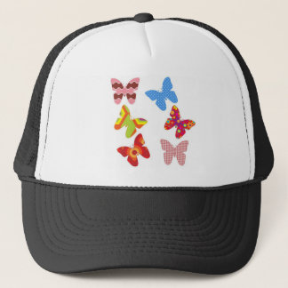 Decorative Colored Butterflies Trucker Hat