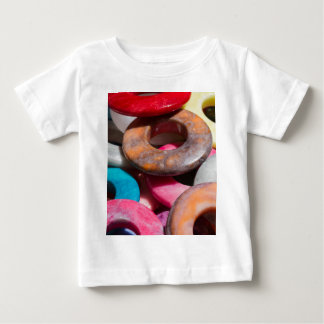 decorative colored rings baby T-Shirt