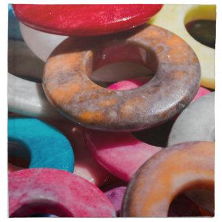 decorative colored rings napkin