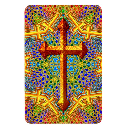 Decorative Cross Flexible Magnet