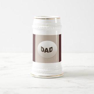 Decorative Dad Beer Stein