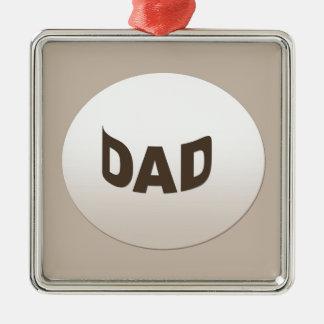 Decorative Dad Christmas Ornament