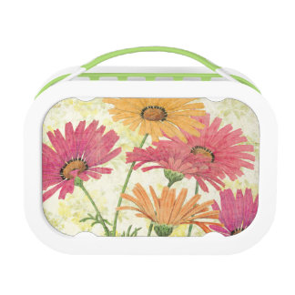 Decorative Daisies Lunch Box