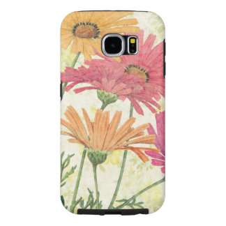 Decorative Daisies Samsung Galaxy S6 Cases