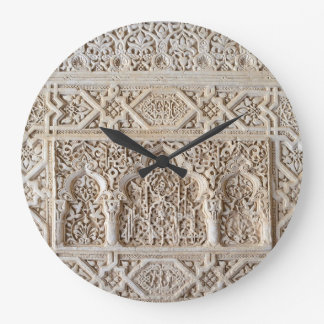 Decorative detail from Alhambra Wall Clock