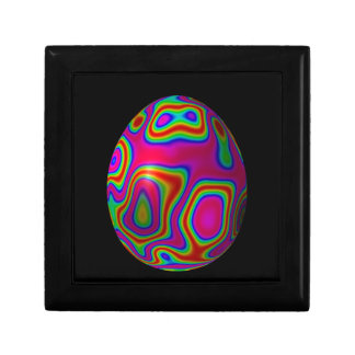 Decorative egg small square gift box
