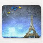 Decorative Eiffel Tower of Paris Mouse Pad