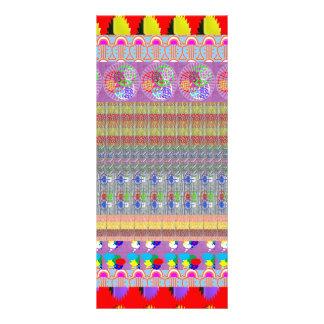 Decorative Elegant Graphics Template DIY NVN209 Full Colour Rack Card