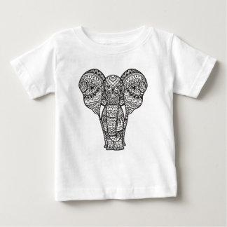 Decorative Elephant Style Baby T-Shirt