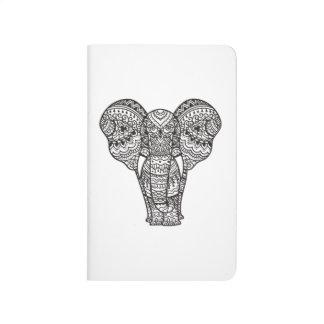 Decorative Elephant Style Journal