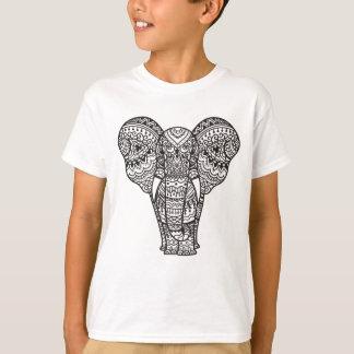 Decorative Elephant Style T-Shirt