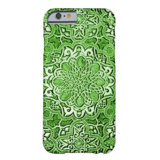 Decorative Emerald Valhalla Spirit Mandala iPhone Barely There iPhone 6 Case
